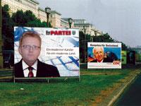 Parteiwahlplakat