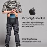 Die ibap Hosentasche für den Kreativen iPad Träger