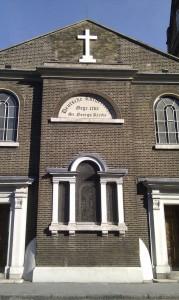 Deutsche Kirche in London Poplar
