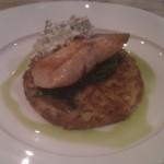 Hauptspeise Lachs
