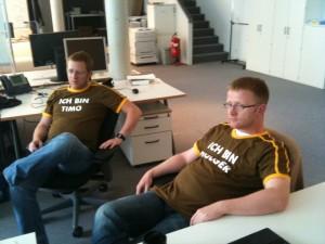 Timo und Holger - wer ist wer?