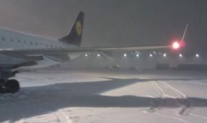 LH937 im Schnee