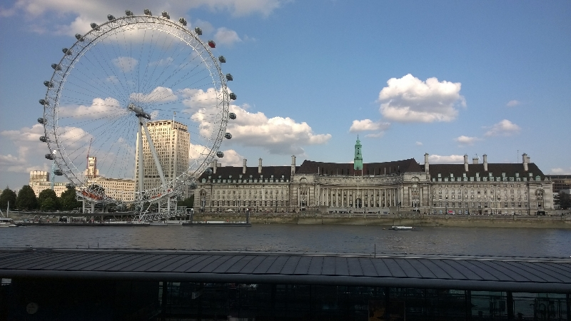 London Eye und Aquarium