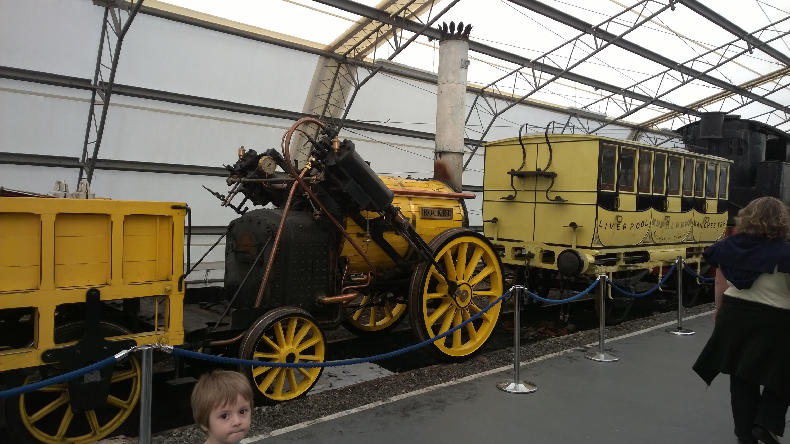 National Rail Museum, York