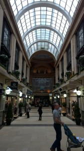 Old Mall in Nottingham