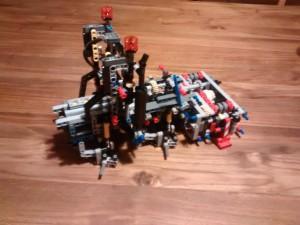 Mercedes Arocs 3245 - Lego Technic 42043 - Ansicht nach Tüte 1 und 2