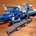 Lego Seilbagger - 42042 - Aufbau zweiter Schritt
