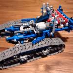 Lego Seilbagger - 42042 - Aufbau erster Schritt