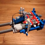 Lego Seilbagger - 42042 - Getriebe